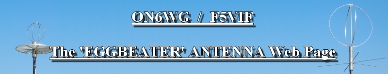 The Eggbeater Antenna Web Page